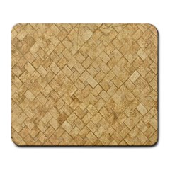Tan Diamond Brick Large Mousepads by trendistuff