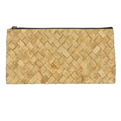 Tan Diamond Brick Pencil Cases by trendistuff