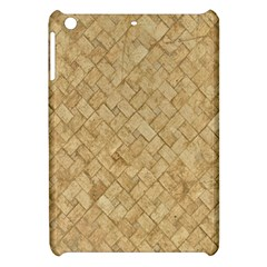 Tan Diamond Brick Apple Ipad Mini Hardshell Case by trendistuff