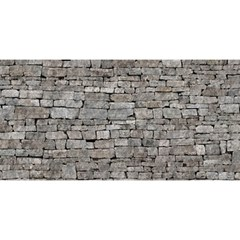 STONE WALL GREY YOU ARE INVITED 3D Greeting Card (8x4)  by trendistuff