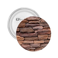 STONE WALL BROWN 2.25  Buttons by trendistuff