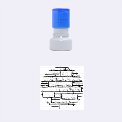 Sandstone Brick Rubber Round Stamps (small)