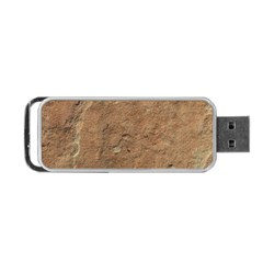 Sandstone Portable Usb Flash (one Side) by trendistuff
