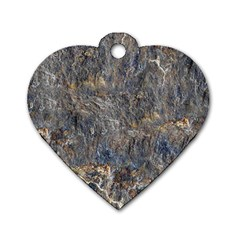 RUSTY STONE Dog Tag Heart (Two Sides) by trendistuff