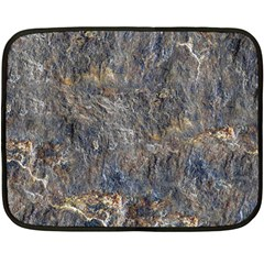Rusty Stone Double Sided Fleece Blanket (mini)  by trendistuff