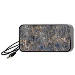 Rusty Stone Portable Speaker (black)  by trendistuff