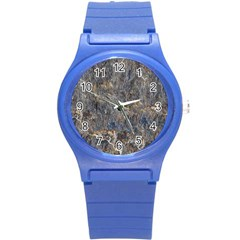 Rusty Stone Round Plastic Sport Watch (s) by trendistuff