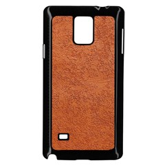 Rust Colored Stucco Samsung Galaxy Note 4 Case (black) by trendistuff