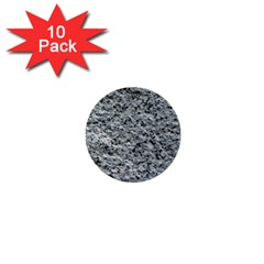 ROUGH GREY STONE 1  Mini Buttons (10 pack)  by trendistuff