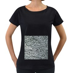 ROUGH GREY STONE Women s Loose-Fit T-Shirt (Black) by trendistuff
