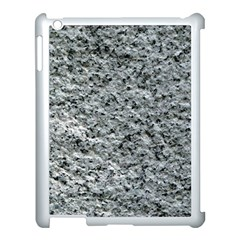Rough Grey Stone Apple Ipad 3/4 Case (white) by trendistuff