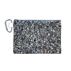 Pebble Beach Canvas Cosmetic Bag (m) by trendistuff
