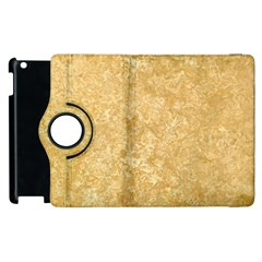 Noce Travertine Apple Ipad 3/4 Flip 360 Case by trendistuff