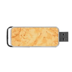 MARBLE LIGHT TAN Portable USB Flash (Two Sides) by trendistuff