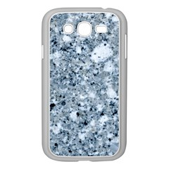 Marble Light Grey Samsung Galaxy Grand Duos I9082 Case (white) by trendistuff