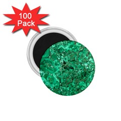 Marble Green 1 75  Magnets (100 Pack)  by trendistuff