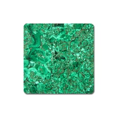 Marble Green Square Magnet by trendistuff