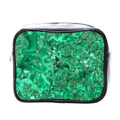 Marble Green Mini Toiletries Bags by trendistuff
