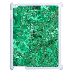 Marble Green Apple Ipad 2 Case (white) by trendistuff