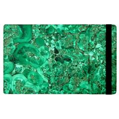 Marble Green Apple Ipad 3/4 Flip Case by trendistuff