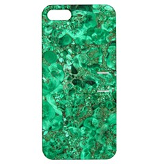 Marble Green Apple Iphone 5 Hardshell Case With Stand by trendistuff