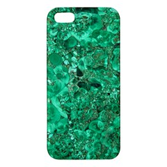 Marble Green Iphone 5s Premium Hardshell Case by trendistuff
