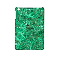 Marble Green Ipad Mini 2 Hardshell Cases by trendistuff