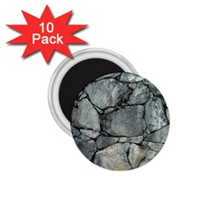 Grey Stone Pile 1 75  Magnets (10 Pack)  by trendistuff