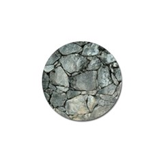 Grey Stone Pile Golf Ball Marker (4 Pack) by trendistuff