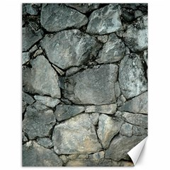 Grey Stone Pile Canvas 12  X 16   by trendistuff