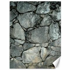 Grey Stone Pile Canvas 36  X 48   by trendistuff