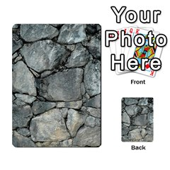 Grey Stone Pile Multi Purpose Cards (rectangle)  by trendistuff
