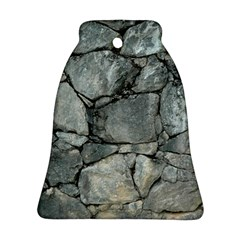 Grey Stone Pile Bell Ornament (2 Sides) by trendistuff