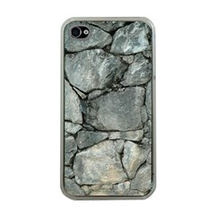 Grey Stone Pile Apple Iphone 4 Case (clear) by trendistuff