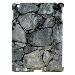 Grey Stone Pile Apple Ipad 3/4 Hardshell Case (compatible With Smart Cover) by trendistuff