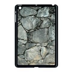 Grey Stone Pile Apple Ipad Mini Case (black) by trendistuff