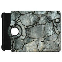 Grey Stone Pile Kindle Fire Hd Flip 360 Case by trendistuff