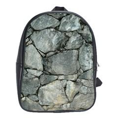 Grey Stone Pile School Bags (xl)  by trendistuff