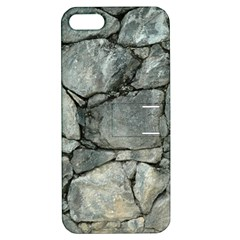 Grey Stone Pile Apple Iphone 5 Hardshell Case With Stand by trendistuff
