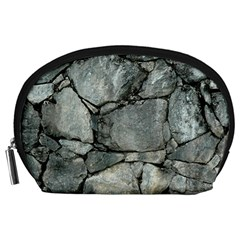 Grey Stone Pile Accessory Pouches (large)  by trendistuff