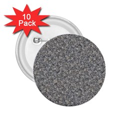 GREY MARBLE 2.25  Buttons (10 pack)  by trendistuff
