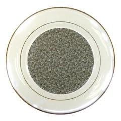 Grey Marble Porcelain Plates by trendistuff