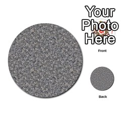 Grey Marble Multi Purpose Cards (round)