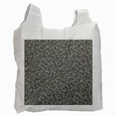 Grey Marble Recycle Bag (one Side) by trendistuff