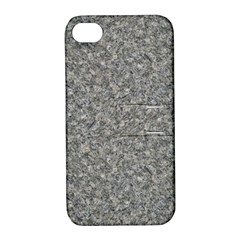 Grey Marble Apple Iphone 4/4s Hardshell Case With Stand by trendistuff