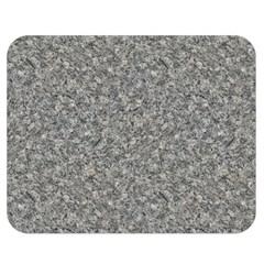 Grey Marble Double Sided Flano Blanket (medium)  by trendistuff
