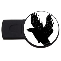 Crow Usb Flash Drive Round (2 Gb)
