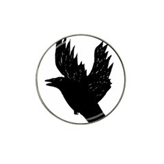 Crow Hat Clip Ball Marker (4 Pack) by JDDesigns