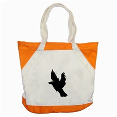 Crow Accent Tote Bag  by JDDesigns