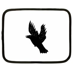 Crow Netbook Case (large) by JDDesigns